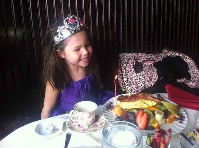 Queen Mary tea Room princess