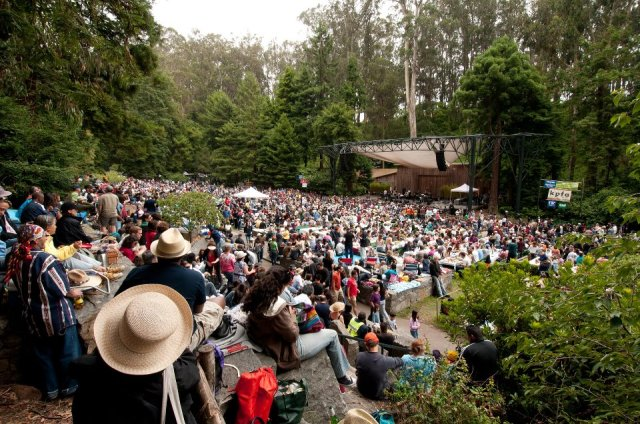 A Concert in the Trees: Your Guide to the Stern Grove Music Fest