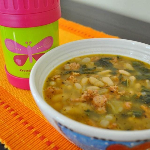Kale, White Bean & Sausage Soup