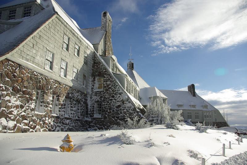 timberline exterior winter