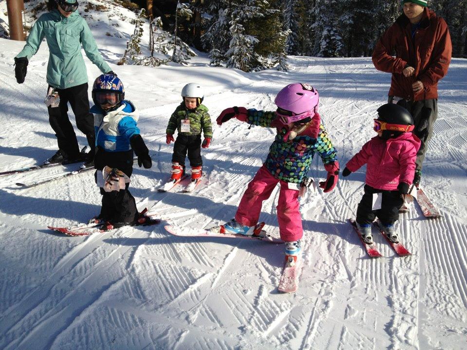 timberline lodge and capozzi kids skiing