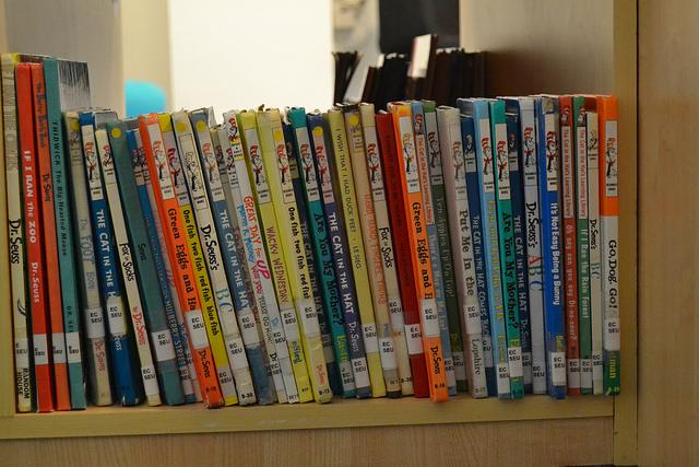 Dr. suess books ayoub.reem Flickr CC