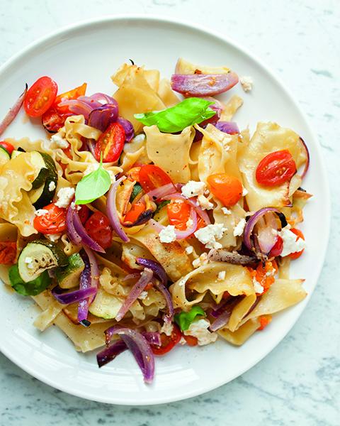 baked-roasted-veggie-pasta