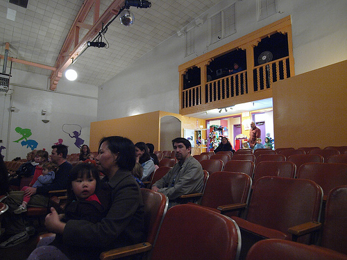 Puppet Theater seats