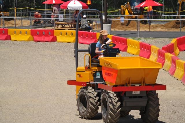 Drive a Dump Truck at NJ's New Diggerland USA Theme Park