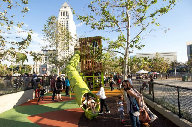 Just Opened: Grand Park Playground