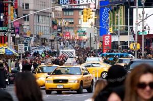 crowds manhattan flickr