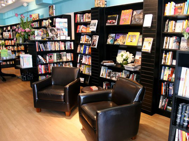 page: a bookstore