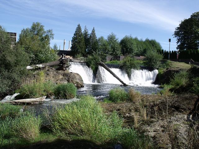 Tumwater Falls Kimberly Barr Flickr CC