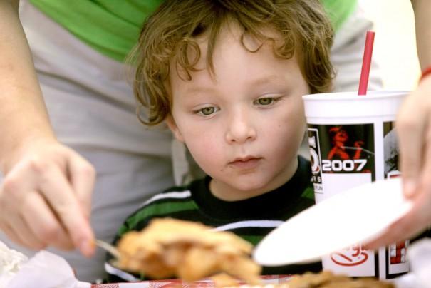Boy eating pie--cc--Brittany Randolph via flickr