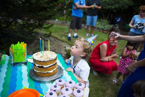 Leo's smores cake