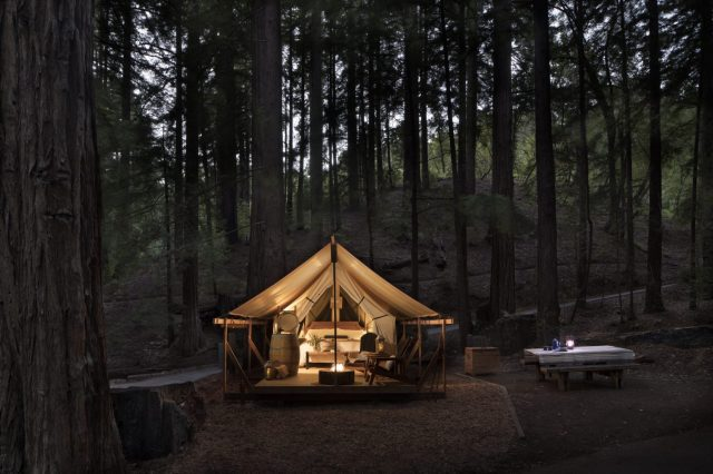35 Glamping Spots & Cozy Cabins Perfect for Fall