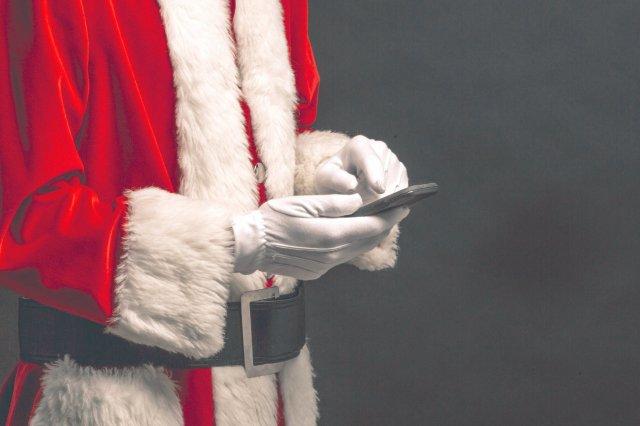 santa phone text