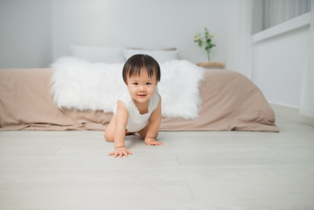 Baby's Crawling? Quick! Try These 12 Tips for Babyproofing & Fun