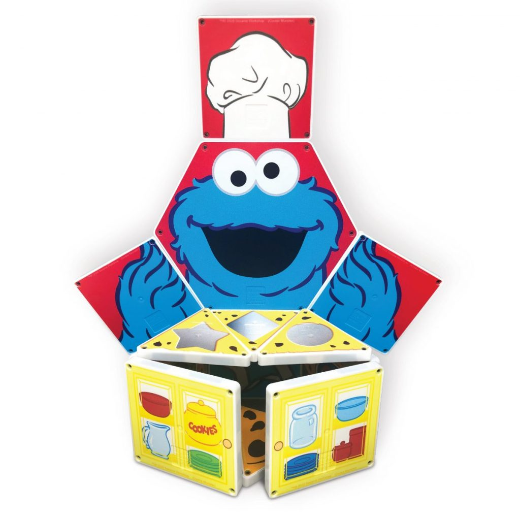 Counting with Cookie Monster Magna-Tiles