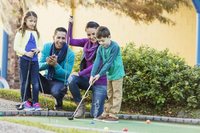 best places to play mini golf
