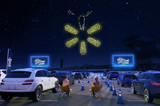 Walmart Holiday Drone