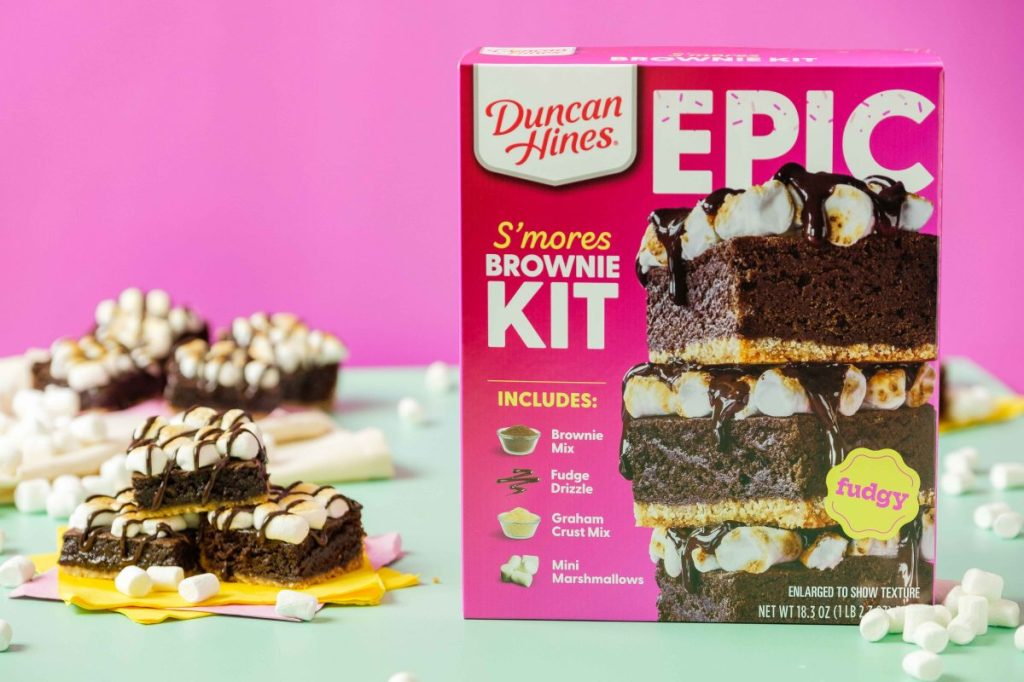 Epic S'mores Brownies