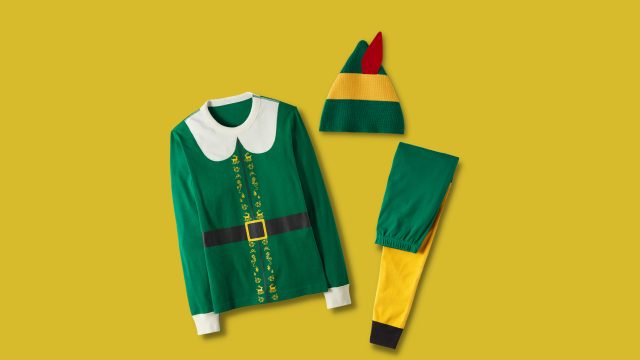 """Your Kids Will Be the Cutest Cotton-Headed Ninny Muggins in These """"Elf"""" PJs"""